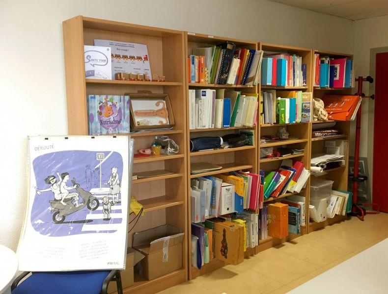 Centre de ressources documentaire départemental à Carcassonne